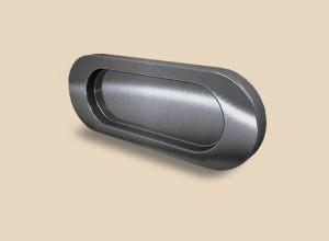 Ручка серебро глянец овальная Италия Барнаул