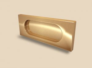 Ручка Золото глянец прямоугольная Италия Барнаул