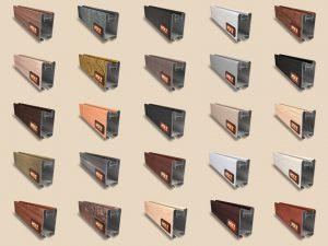"""Алюминиевый ламинированный профиль """"HOLZ"""" для шкафов купе и межкомнатных перегородок Более 100 цветов Барнаул"""