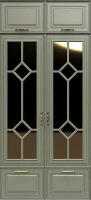 Фасад с фигурной филенкой эмаль Барнаул