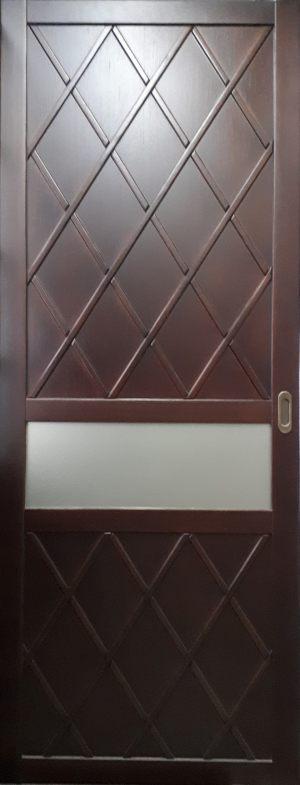 Вставка в дверь с фигурной филенкой Барнаул