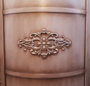 Вставка радиусная с декоративной накладкой эмаль с патиной Барнаул