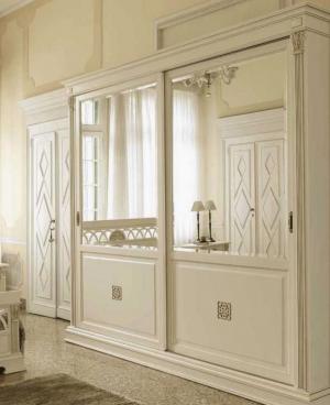 Шкаф купе с филенкой и декоративной накладкой эмаль Барнаул