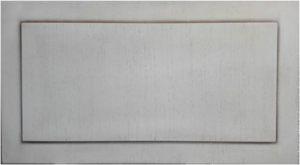 Вставка в дверь с филенкой шпон+патина Барнаул